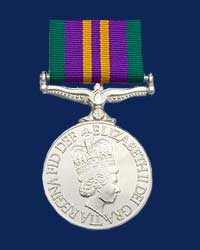 Accumulated Campaign Service Medal 2011